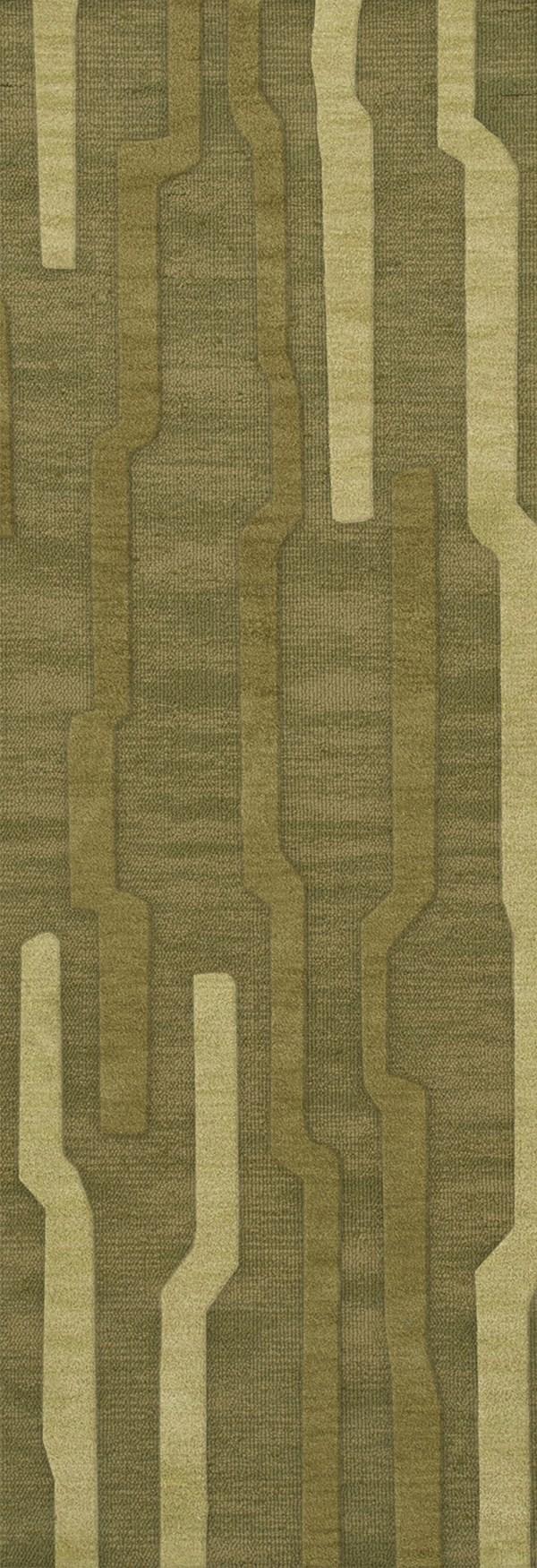 Tarragon, Green Transitional Area Rug