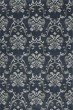 Product Image of Transitional Navy, Grey, Linen Area Rug