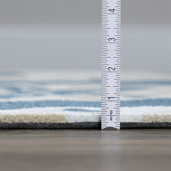 Baltic, Khaki, Linen Beach / Nautical Area Rug