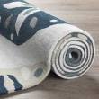 Product Image of Ivory, Blue, Khaki Beach / Nautical Area Rug