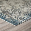 Product Image of Linen, Teal, Sky Vintage / Overdyed Area Rug