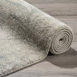 Product Image of Linen, Blue, Taupe Transitional Area Rug