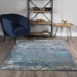 Product Image of Denim, Navy, Teal, Ivory Transitional Area Rug
