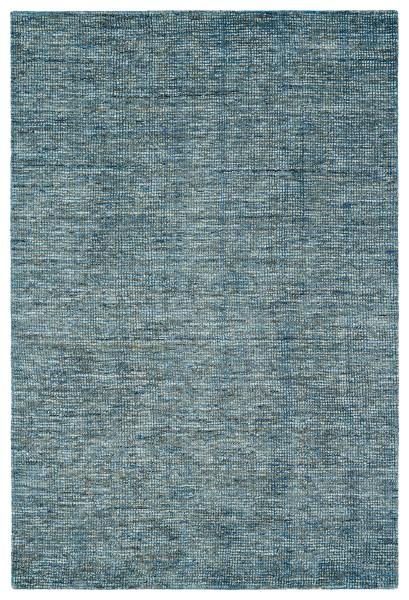 Denim, Grey, Navy Contemporary / Modern Area Rug