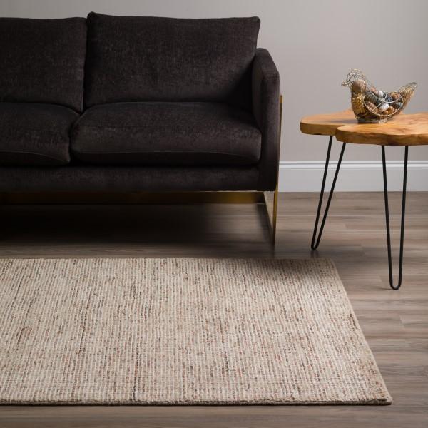Sand, Chocolate, Taupe, Grey Contemporary / Modern Area Rug