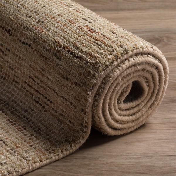 Sand, Chocolate, Taupe, Grey Casual Area Rug