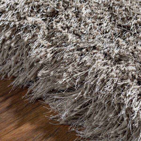 Mushroom Shag Area Rug