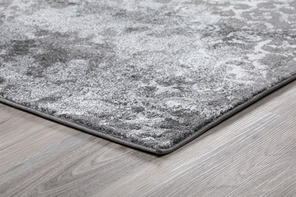Grey Vintage / Overdyed Area Rug