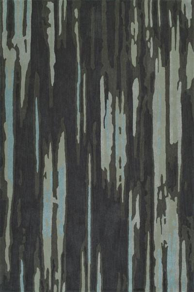 Graphite Contemporary / Modern Area Rug