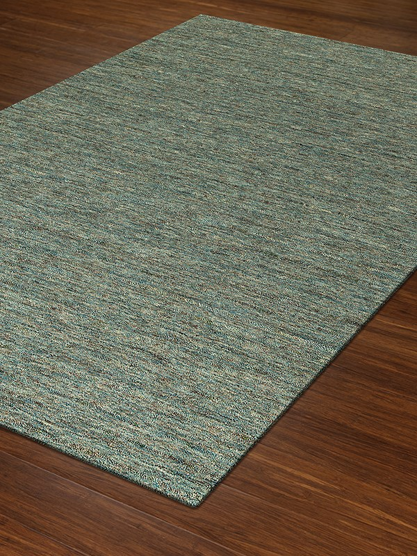 Turquoise Casual Area Rug
