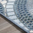 Product Image of Indigo, Grey, Ivory, Taupe Outdoor / Indoor Area Rug