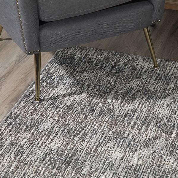 Ash, Grey, Ivory Outdoor / Indoor Area Rug