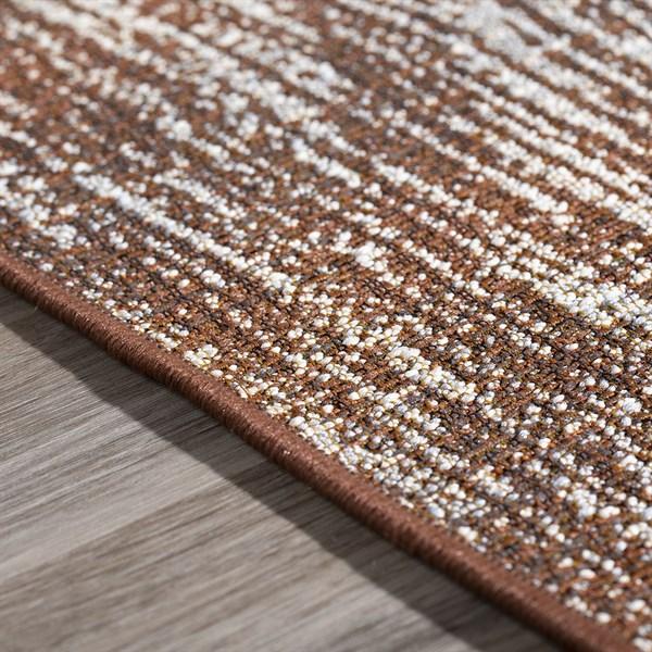 Chocolate, Ivory, Beige, Taupe Outdoor / Indoor Area Rug
