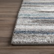 Product Image of Taupe, Pewter, Teal, Charcoal Shag Area Rug