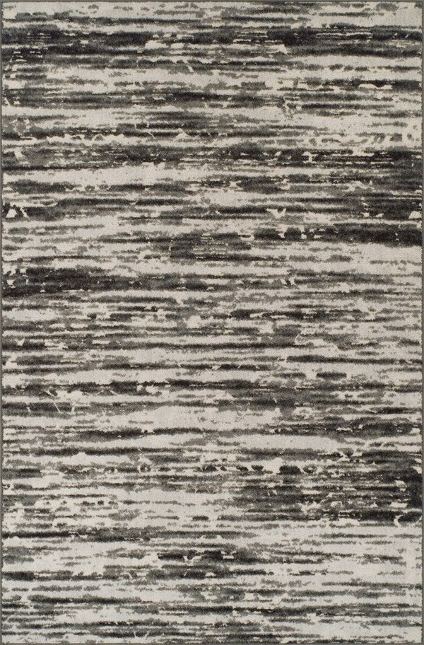 Pewter, Gray, Silver, Ivory, Charcoal Transitional Area Rug