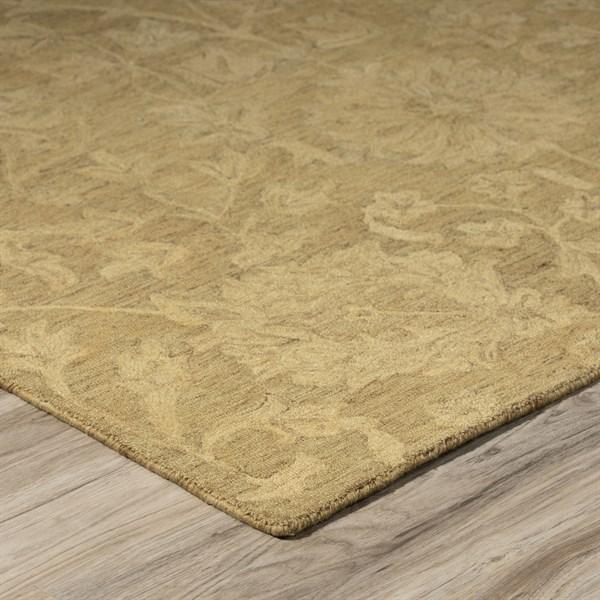Goldenrod (KB-01) Traditional / Oriental Area Rug