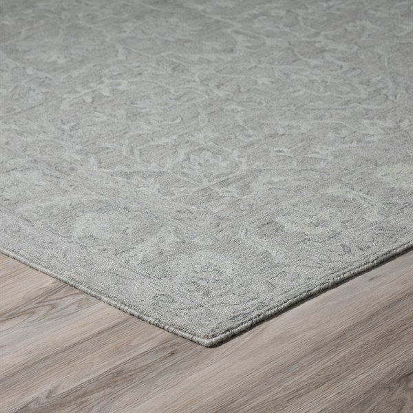 Silver (KB-04) Traditional / Oriental Area Rug