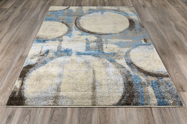 Ocean Contemporary / Modern Area Rug