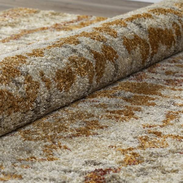 Wheat Rustic / Farmhouse Area Rug