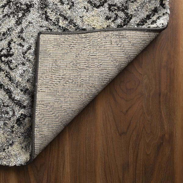 Charcoal Vintage / Overdyed Area Rug
