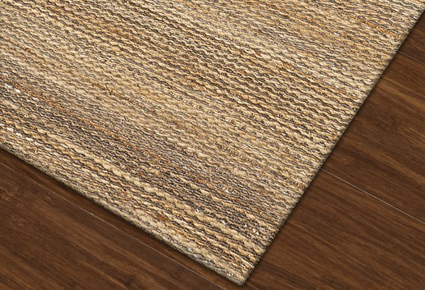 Pewter Textured Solid Area Rug