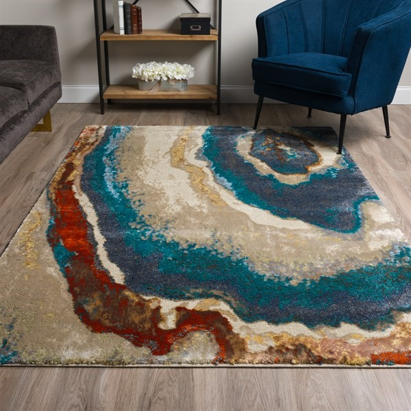 Geode Transitional Area Rug