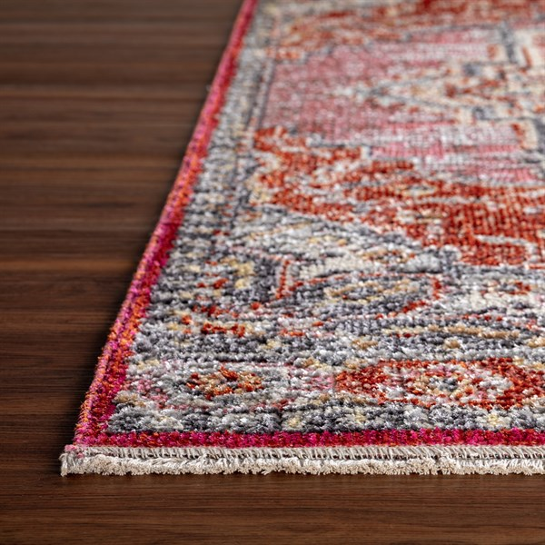 Tropical Punch Traditional / Oriental Area Rug