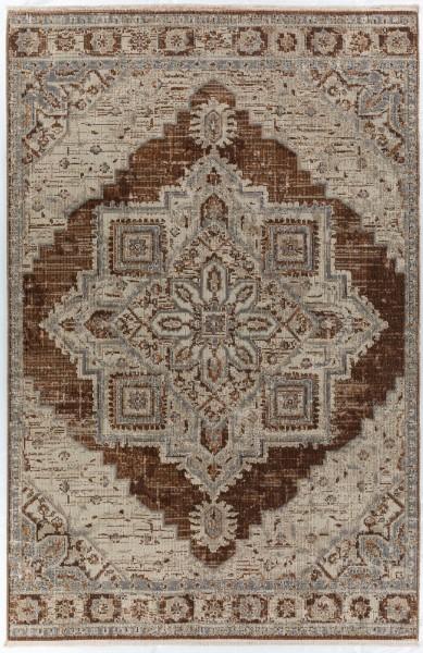 Walnut Traditional / Oriental Area Rug