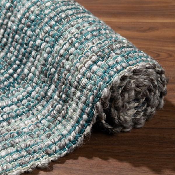 Turqouise Natural Fiber Area Rug