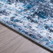 Product Image of Cobalt Abstract Area Rug