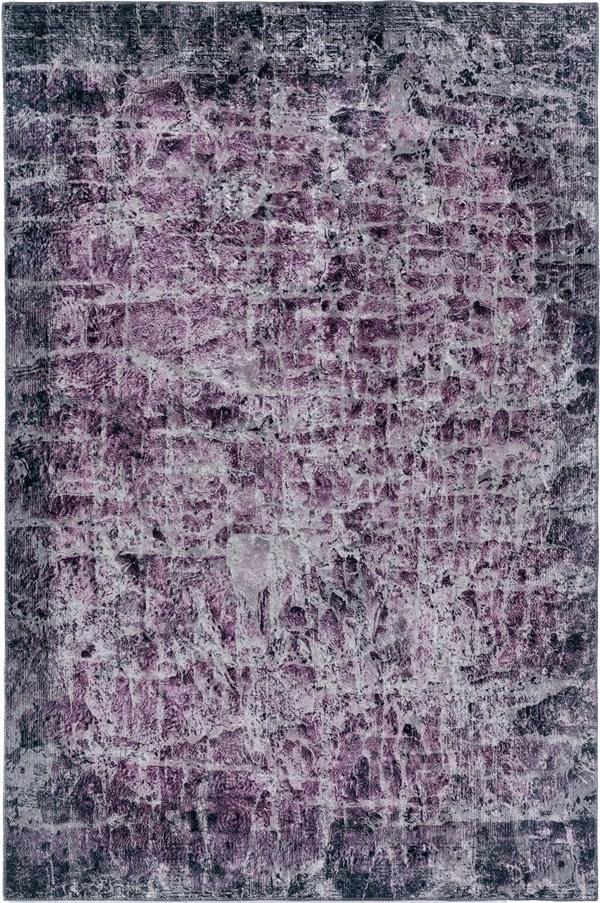 Amethyst Abstract Area Rug