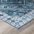 Product Image of Teal Vintage / Overdyed Area Rug