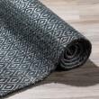 Product Image of Black Bohemian Area Rug