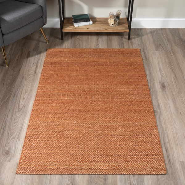 Copper Bohemian Area Rug