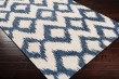 Product Image of Navy, Cream Moroccan Area Rug