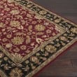 Product Image of Burgundy, Black Traditional / Oriental Area Rug