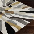 Product Image of Split Pea, Gray Sage, Iron Ore Contemporary / Modern Area Rug