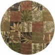 Product Image of Avocado, Khaki, Dark Brown Contemporary / Modern Area Rug
