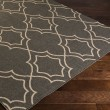Product Image of Black, Camel Moroccan Area Rug
