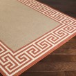 Product Image of Copper, Camel, Cream Bordered Area Rug