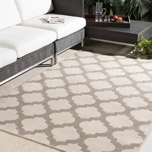 Camel, Khaki Contemporary / Modern Area Rug