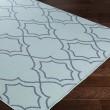 Product Image of Aqua, Charcoal Outdoor / Indoor Area Rug