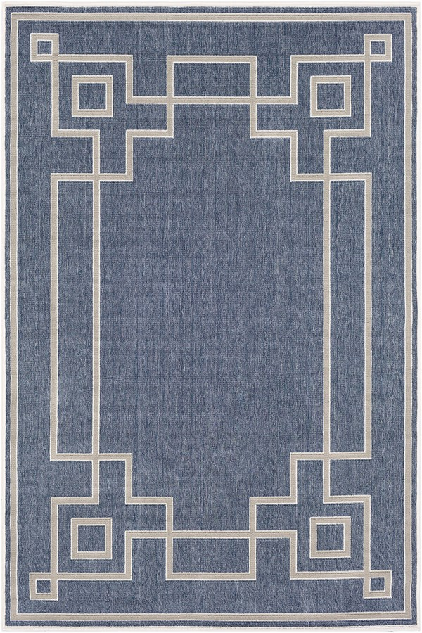 Charcoal, Taupe, White Outdoor / Indoor Area Rug