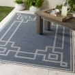 Product Image of Charcoal, Taupe, White Outdoor / Indoor Area Rug