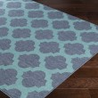 Product Image of Charcoal, Teal Traditional / Oriental Area Rug
