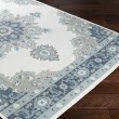 Product Image of Taupe, Aqua, Charcoal, White Outdoor / Indoor Area Rug