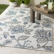 Product Image of Aqua, Taupe, White, Charcoal Outdoor / Indoor Area Rug