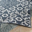 Product Image of Charcoal, White Outdoor / Indoor Area Rug