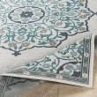 Product Image of Teal, White, Black, Taupe Outdoor / Indoor Area Rug
