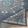 Product Image of Charcoal, Taupe, Teal, White Outdoor / Indoor Area Rug